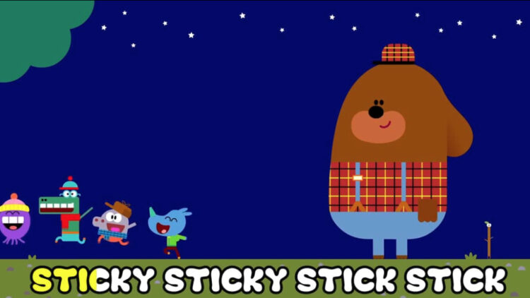 Hey Duggee Stick Song (because sometimes kids TV is just utter GENIUS)