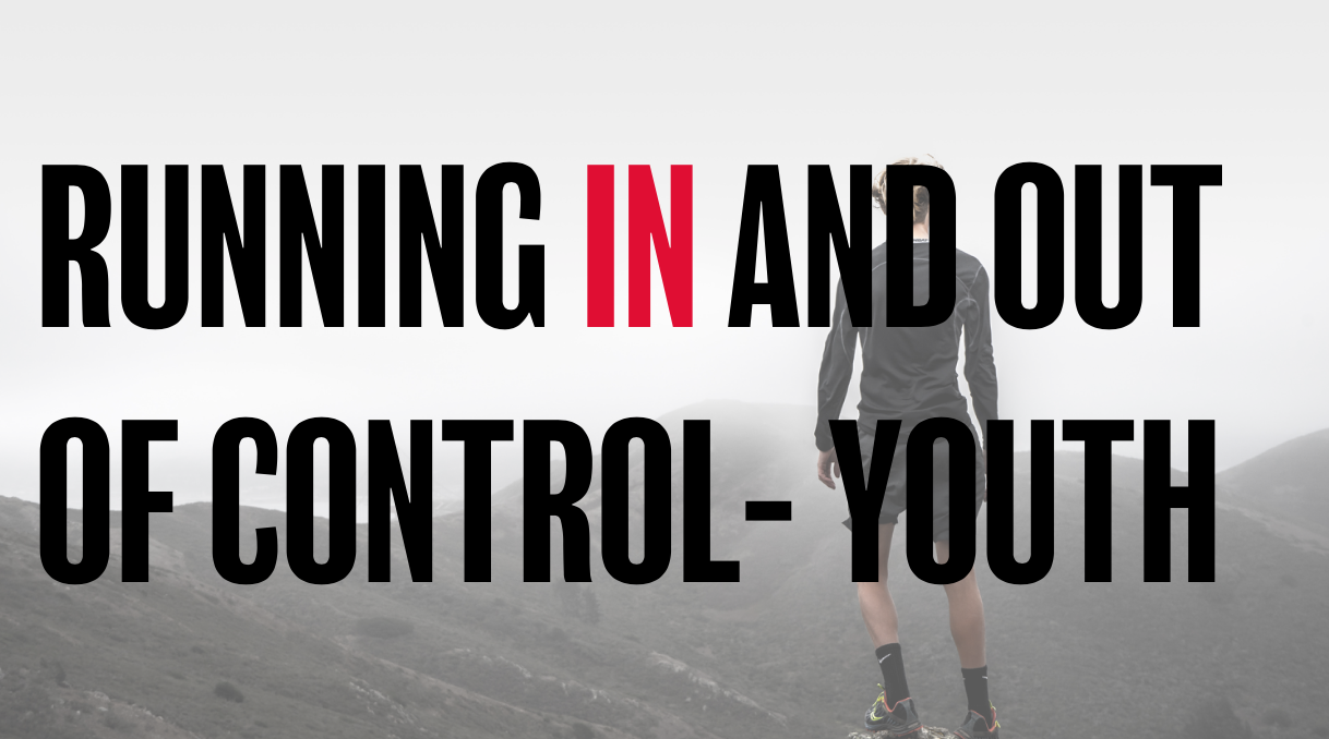 Running in and out of control- young people