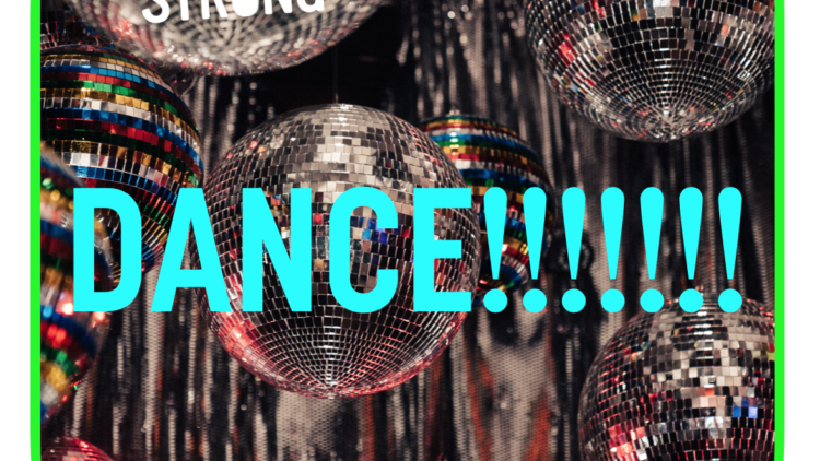 The 'Dance like no-one's watching' Playlist!