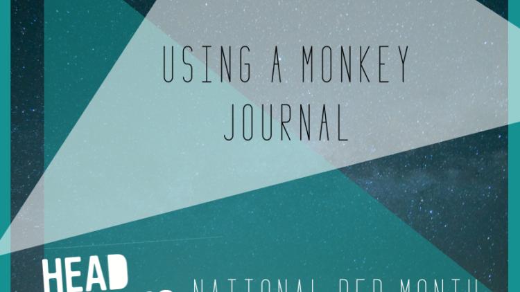 Using a monkey journal to help you sleep