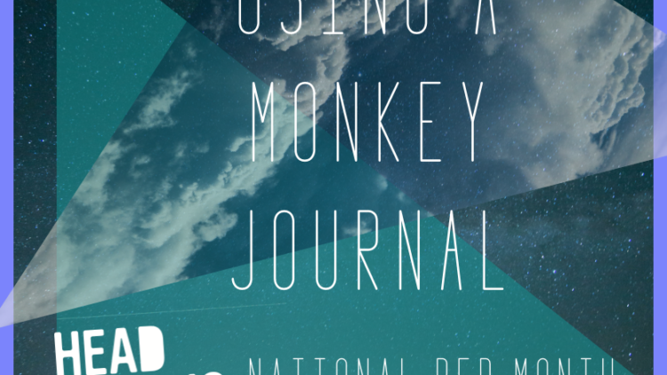 Using a monkey journal to help you sleep