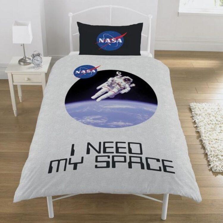 81377 nasa i need my space single duvet set w1