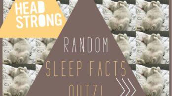 Random sleep facts quiz!