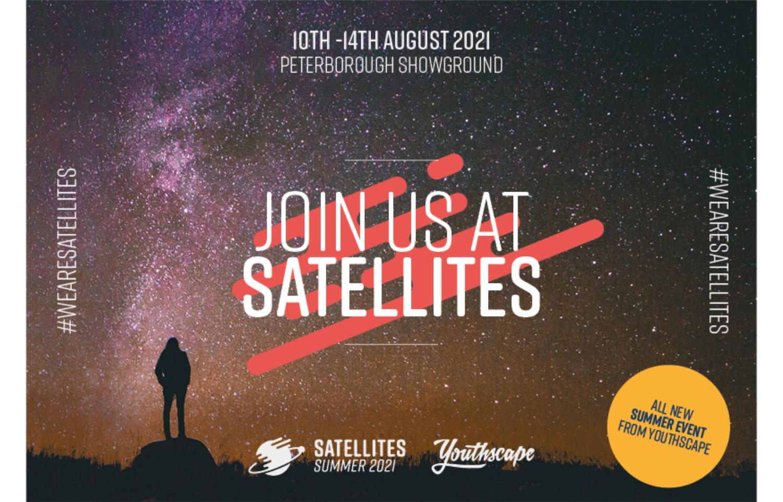 Satellites postcards